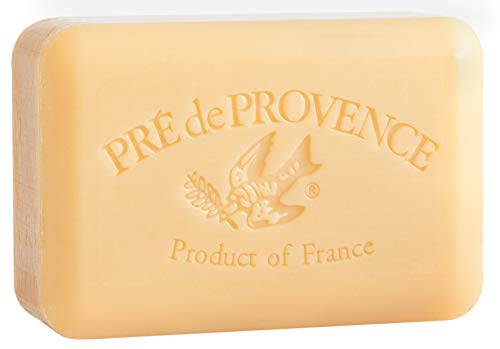 Pre de Provence Sandalwood Shea Butter Enriched Soap, 250 Gram (Pack of 3)