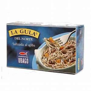 Ubago – La gula del Nord – Salteada al aglio, 50 g, confezione da 5 (totale 250 g)