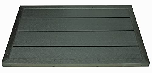 dirks-traumbad Bodenelement Solardusche Bodenplatte für Gartendusche oder Poolleiter Outdoor Pooldusche Pool