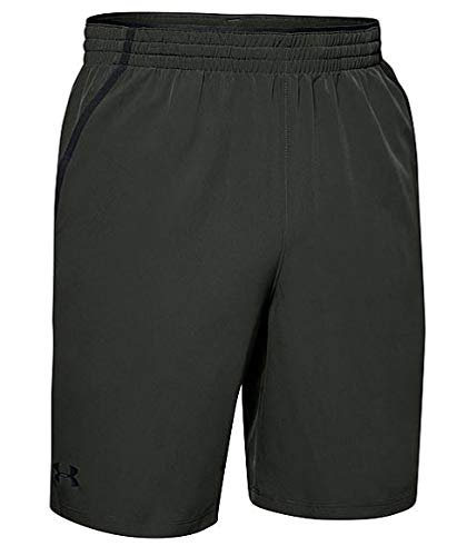 Under Armour Qualifier WG Perf Pantalones Cortos para Hombre, Baroque Green, XXX-Large