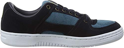 Etnies Senix Lo, Zapatillas de Skateboard para Hombre, Azul (Navy/Gold/White 471), 42 EU