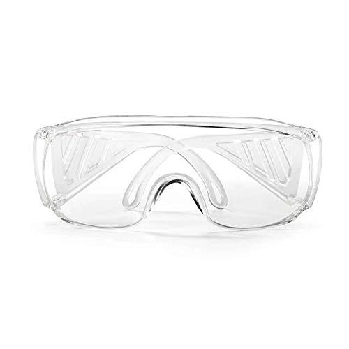 YL Goggles Gafas Protectoras/Gafas Protectoras Transparentes Cortavientos A Prueba De Polvo Protección Antivaho contra Salpicaduras Químicas