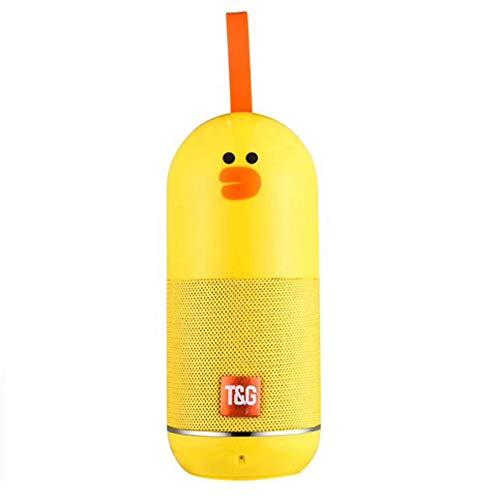 Altavoz Bluetooth inalámbricoTG502 Pato Amarillo portatil niños Audio HD Exterior Musica
