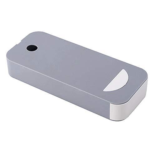 Unter Schreibtisch Kunststoffhalter Aufbewahrungsbox Unter Tisch Schublade Versteckte selbstklebende Bleistift Gummistift Stift Kleine Spitze Erinnerung Papierorganisator Memo Pen Briefpapier