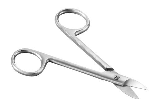 Tifall Ciseau à ongles microdenté en acier chirurgical