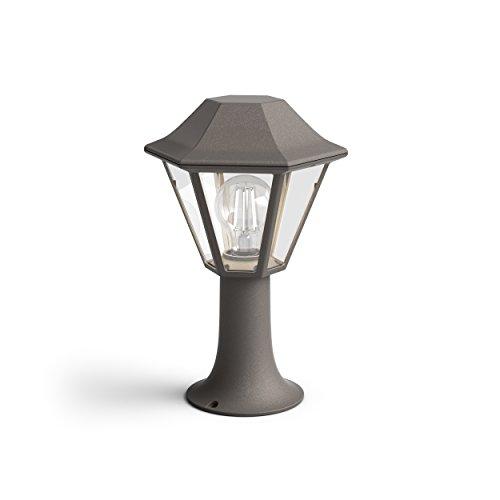 Philips Lighting myGarden wand-/voetsokkel, E27, 42 IP44, buitenverlichting, vocht- en weerbestendig, bruin