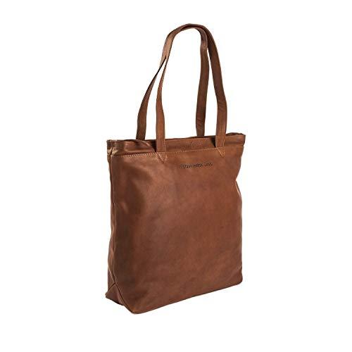 The Chesterfield Brand Bonn Shopper Tasche Leder 35 cm Laptopfach