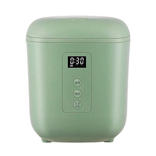 ZXCY Elektrisch Reis Kocher Tragbarer Multikocher Isolierung Lebensmittelwärmer Intelligenter Termin-Kochtopf 1,2 L Kleines Küchengerät