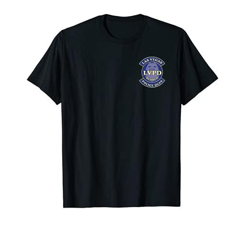 ラスベガス警察官 退職した盾 Tシャツ