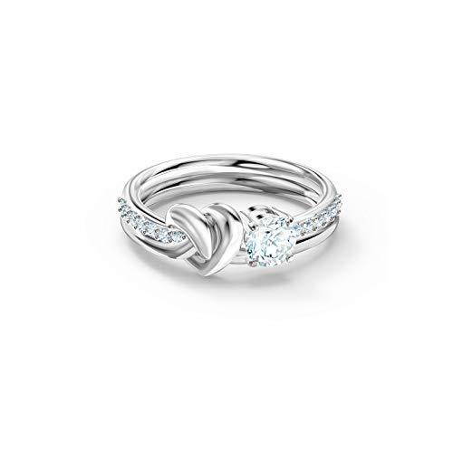Swarovski Damen-Damenring LIFELONG RING Metall, Metall Swarovski-Kristall 55 Silber 32012321