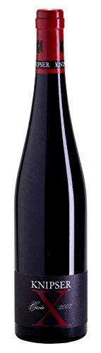 Cuveé X Rotweincuvée tr. 2015 Weingut Knipser, trockener Rotwein aus der Pfalz