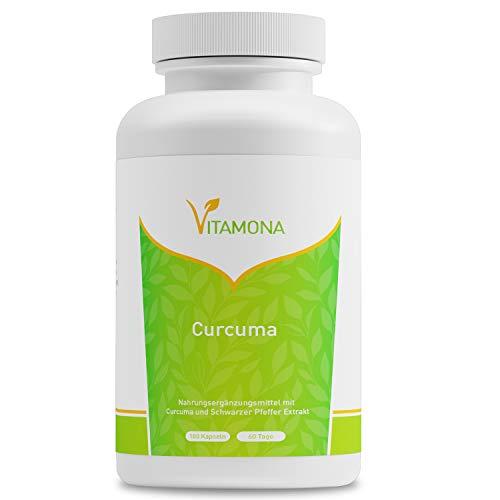 Natural Elements | Kurkuma-extractcapsules | Hoge dosis van 95% extract | Gemaakt in Duitsland