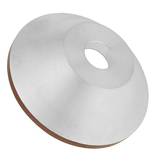 Disco abrasivo de diamante de 100 mm, copa de la muela abrasiva de diamante, alta precisión, eficazmente resistente al desgaste para vitrocerámica