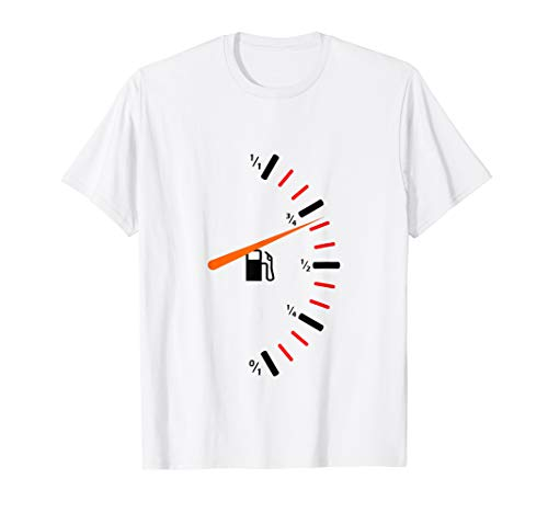 Kraftstoffanzeige Gastank T-Shirt