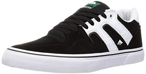Emerica Tilt G6 Vulc Skate Shoes Mens Sz 12 Black/White/Gold