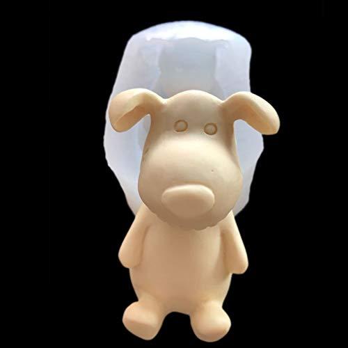 FLUORO Fondant Animal Mousse Mold Cute Dog Mold Cake Mold Candy Mold Chocolate Mold DIY Creative Silicone Mold
