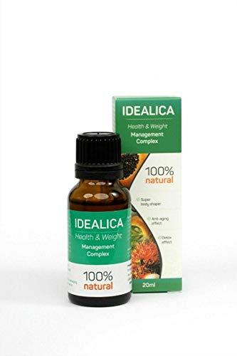 IDEALICA 100% Naturale gocce 20ml. Migliori gocce per perdere peso.
