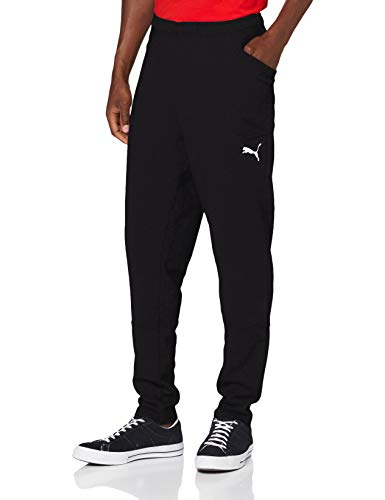 Puma Herren Liga Casuals Pants Hose, Black White, 3XL