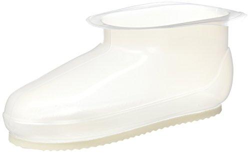 アイセン バスブーツ クリア ホワイト 26cmまで可 幅29.5×奥行31×高さ11cm ランドリー ブーツ 履き心地よい 滑りにくい BB054