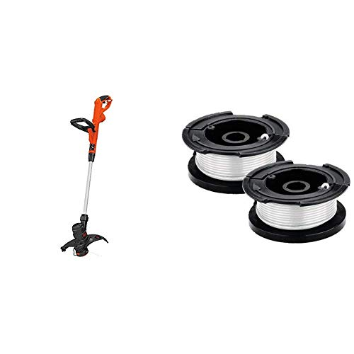 Best Review Of BLACK+DECKER String Trimmer/Edger with Trimmer Line Replacement Spool, Autofeed 30 ft...