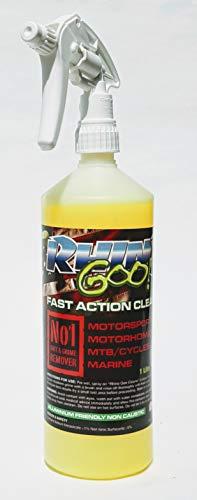 Rhino Goo! Fast Action Cleaner 1L - Fahrradreiniger & Kettenentfetter für Mountain Bikes, Road Bikes & Motorräder