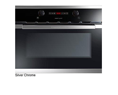 Küppersbusch Einbau-Dampfgarer EDG6260.0, Design:schwarz + Silver Chrome