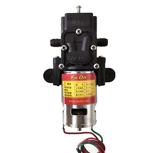 ESTone Micro eléctrico diafragma bomba de agua interruptor automático alta presión lavado coche spray bomba de agua 12 V