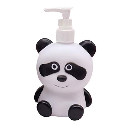 Dispensador de jabón Dinosaurio de la bomba de jabón Jabón Panda Enfriar niños dispensador de loción Champú Gel de ducha dispensador adecuado for baños, cocina encimeras, accesorios de baño 300ml disp