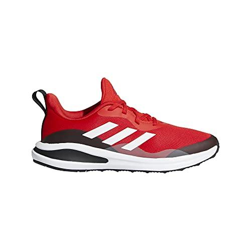 adidas Fortarun K,  Zapatillas de Running Unisex Adulto,  Rojint/FTWBLA/NEGBÁS,  39 1/3 EU
