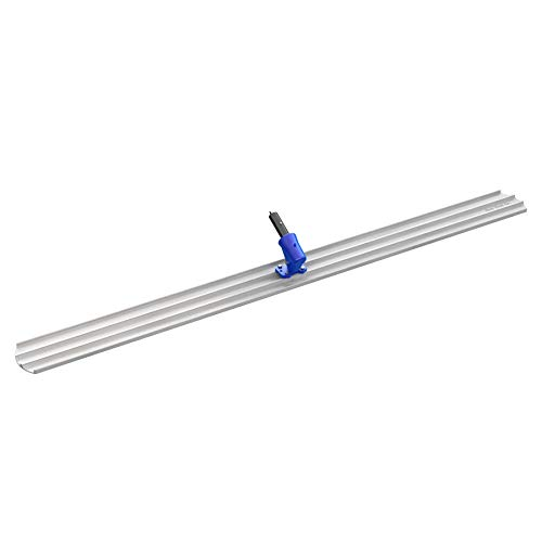 Bon 82-426 96-Inch by 8-Inch Round End Magnesium Concrete Bull Float with Wormgear Bracket