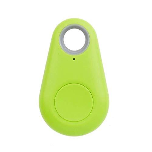 Dispositivo Rastreador GPS por Bluetooth Antipérdida Antirobo Etiqueta Inteligente iTag Tamaño Mini de Bolsillo - Rastreador de Niños, Coche, Personas, Moto, Mascotas, Bicicleta, Perros - Verde