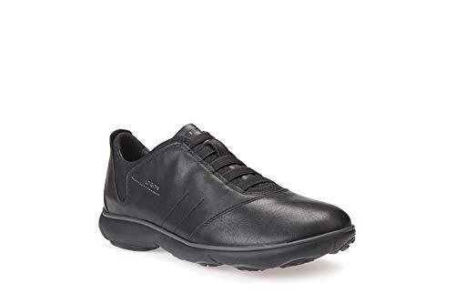 Geox U NEBULA B Herren Sneakers, Schwarz (Blackc9999), 46 EU