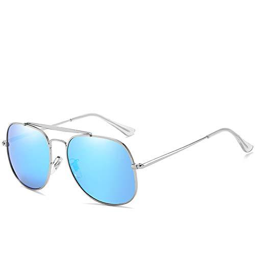SHEANAON Gafas de Sol Redondas Unisex para Conducir Gafas de Sol UV400 Gafas de Sol polarizadas para Mujeres y Hombres