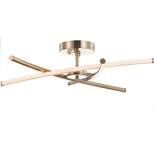 JONATHAN Y JYL7031B Crucis 31.5' Metal Integrated LED Pendant...