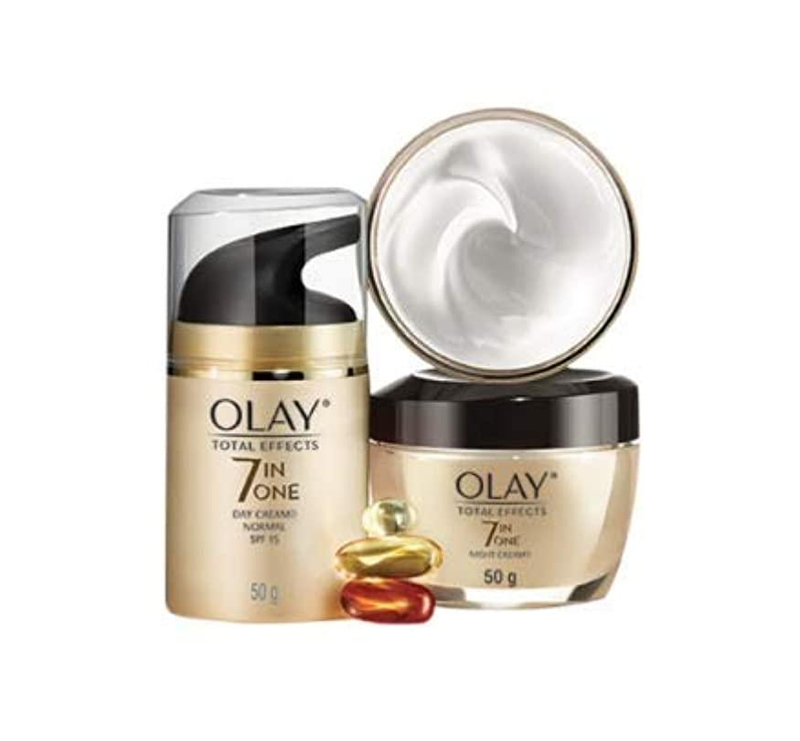 Olay Total Effects Normal Cream SPF 15 50g Free Olay Total Effects Night Cream 50g Olay p&g