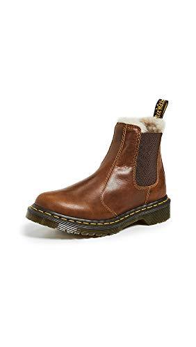Dr. Martens Women's 2976 LEONORE Chelsea Boot, butterscotch, 9 M US