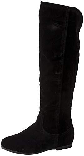 Elara Damen Stiefel Reiter Boots Chunkyrayan BL195 Black-39