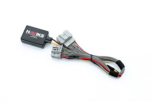 NAViKS Video in Motion Bypass Compatible with 2016-2018 Cadillac CT6 CUE (RPO Codes IO5 or IO6) NAV, DVD, USB, SD Card in Motion NVIM DVD TV Free Vim