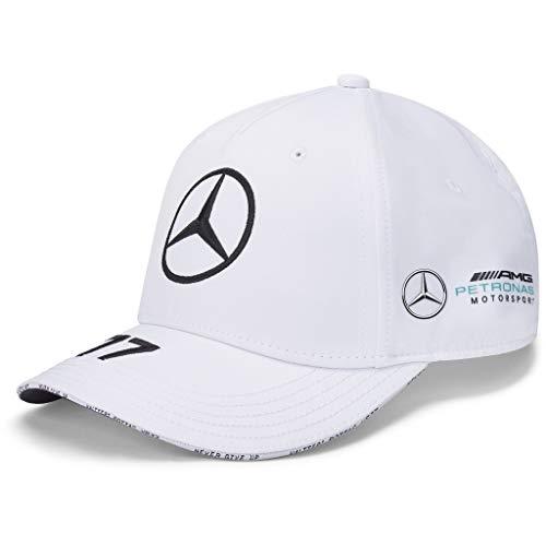 Fuel For Fans Formel 1 Unisex-Erwachsene 2020 Team Cap, Unisex-Erwachsene, Mercedes-AMG Petronas F1 - Valtteri Bottas 2020 Team Cap, Weiß, Einheitsgröße