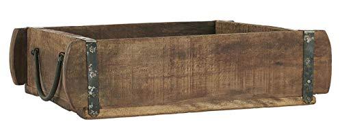 IB Laursen - Kiste Ziegelform - Unika - Holz - 25 x 8 x 30 cm