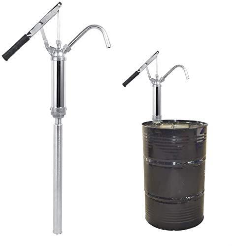 Bomba bidon manual para extraccion de aceite y líquidos de bidon y barril