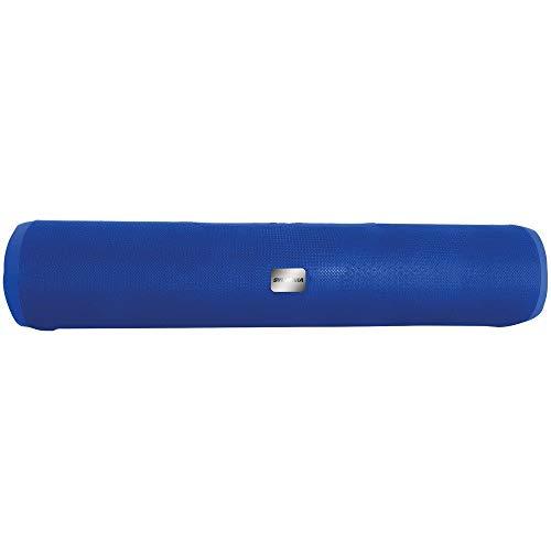 "Sylvania SP667 16"" Long Cube Bluetooth Speaker (Blue)"