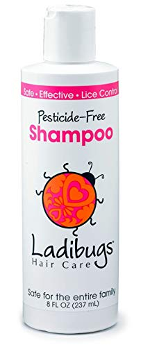 Ladibugs Lice Prevent Shampoo 32oz Family Size | Natural,...