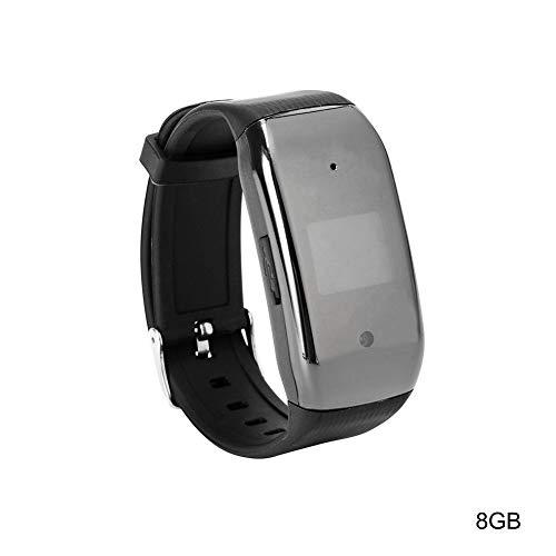 Good01 - Orologio da polso squisito, 4/8/16/32/64 GB, 1080p, USB 2.0, con registratore vocale, digitale