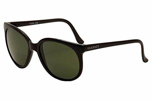 VUARNET - - Uomo - Lunettes de Soleil Noir Verres Pure Grey Vintage 02 pour homme -
