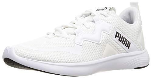 PUMA 193703, Zapatillas para Correr de Carretera Hombre, Blanco White Negro Black, 39 EU