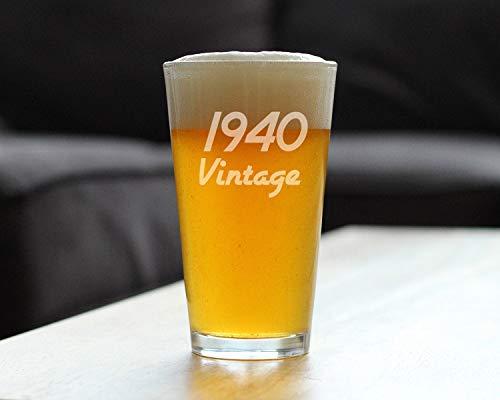 Generic Branded Rotweinglaswaren - Vintage 1940 Upgrade Gravieren Milchglas Stemless Neuheit Dekoration