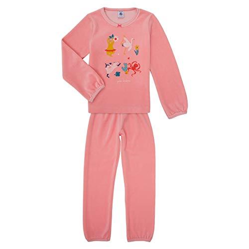 Petit Bateau 5663101 Pyjama für Mädchen Gr. 12 Jahre, Rosa