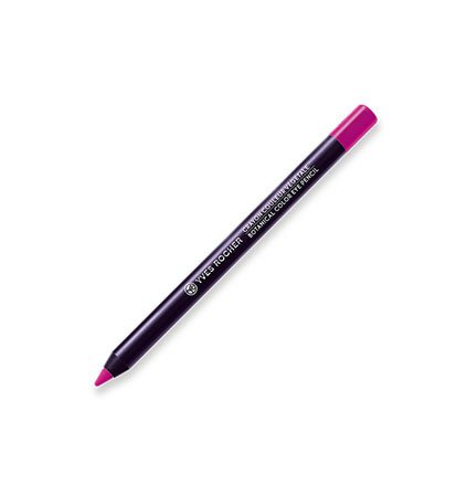 Yves Rocher COULEURS NATURE Augenkonturen-Stift Rose Fuchsia, Eyeliner Kajal in Pink, cremige Textur, 1 x Stift 1,2 g