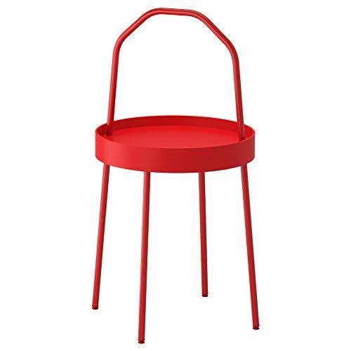 IKEA ASIA BURVIK Beistelltisch rot